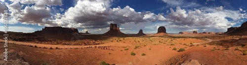 Panoramica Monument Valley US