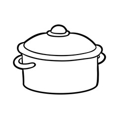 Coloring book, Pot