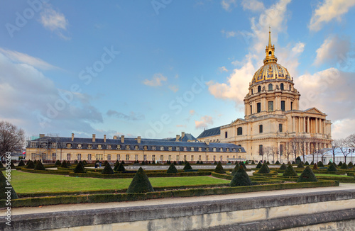Staande foto Parijs Les Invalides - Paris, France