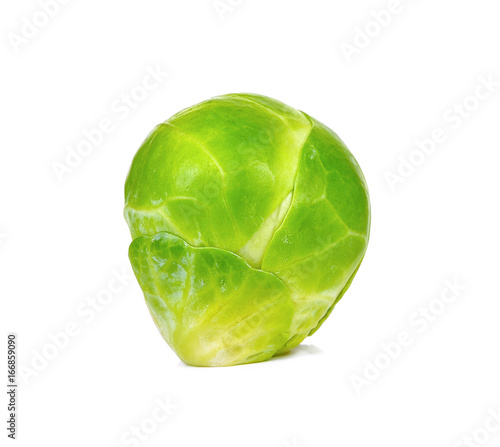 Papiers peints Bruxelles brussel sprout isolated on the white background