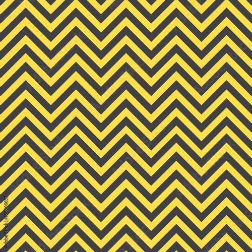 Gray and yellow chevron pattern - 166866657