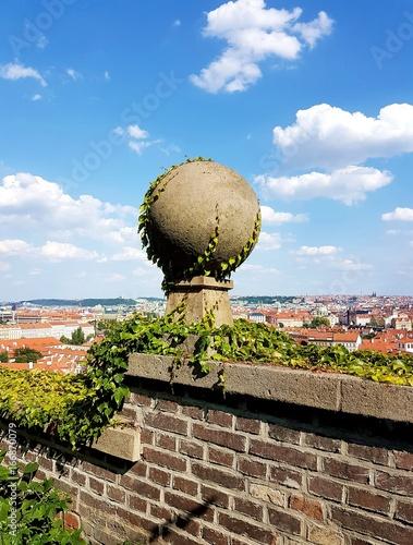 Poster Aussicht von der Prager Burg
