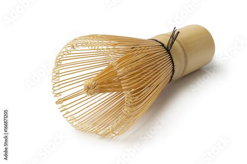 Poster Japanese bamboo tea whisk