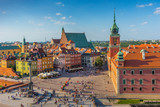 Warsaw, Castle square, Capital of Poland - 166880457
