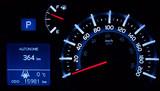 toyota speedometer kph