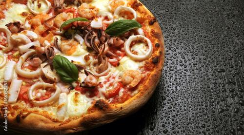 Spoed canvasdoek 2cm dik Pizzeria ピザ פיצה पिज़्ज़ा 피자 Пицца พิซซ่า පීසා پيزا Pitsa Pica 比萨饼 Pizza