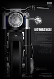 Fototapety Poster Chopper Motorcycle isolated Vector Illustration