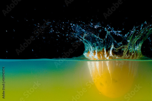 Lemon splash Poster