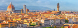 Beautiful landscape above, panorama on historical view of the Florence from  Piazzale Michelangelo point. Italy. - 166948838