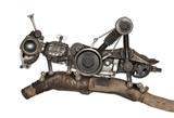 Steampunk style grasshopper