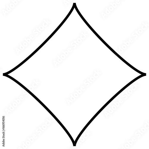 Geometric abstract mandala, spirally geometric shape, object - 166954016