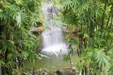 Wasserfall in tropischer Landschaft