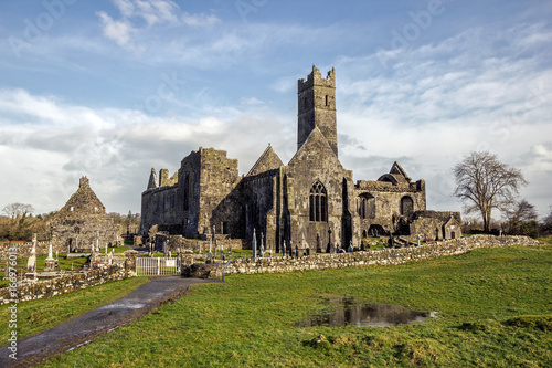 Quin Abbey, County Clare, Ireland