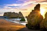 Sunrise Algarve Portugalia