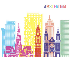 Amsterdam_V2 skyline pop