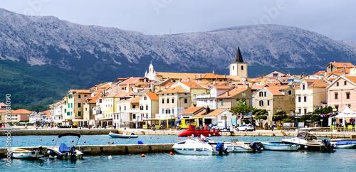 old town baska - krk - croatia