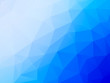abstract vector blue triangles background