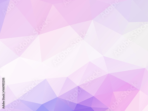 abstract vector purple triangles background