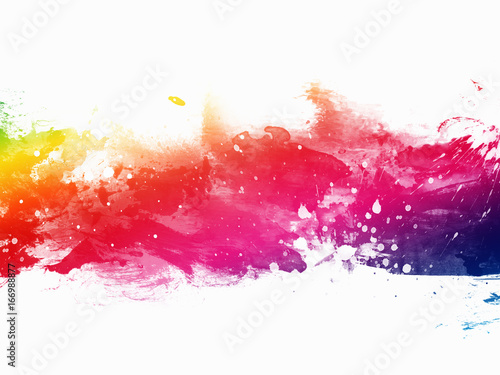 Abstract artistic watercolor background