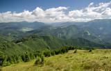 Piękny krajobraz górski, Słowacja