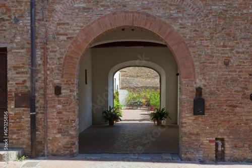 Toskana-Impressionen, Certaldo im Chianti-Gebiet