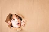 Portrait of worried child - 167032632