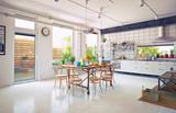 loft kitchen - 167033413