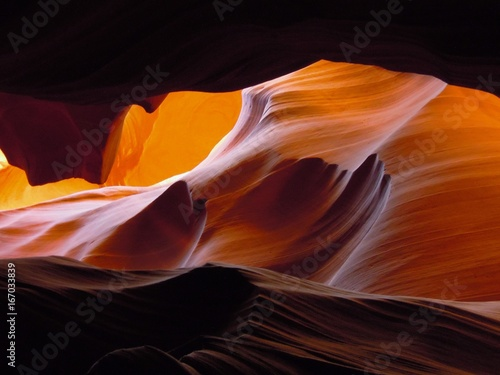 Deurstickers Arizona Antelope Canyon, Page, USA