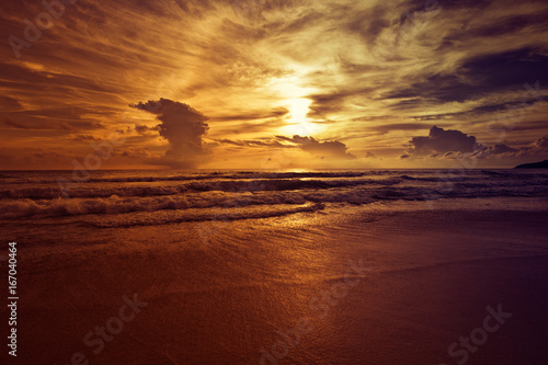 Foto op Plexiglas Tropical strand Beach and tropical sea, Thailand