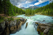 Sunwapta Falls in Jasper National Park, Canada - 167041257