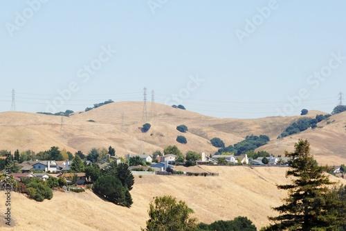 Staande foto Beige California Hills