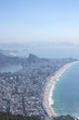 Quadro Leblon and Ipanema beaches view