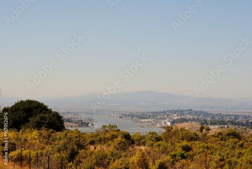 Foto op Aluminium Bleke violet California Bay