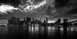 New York Skyline black and white - 167075402