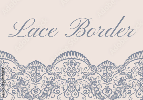 lace border card - 167088424