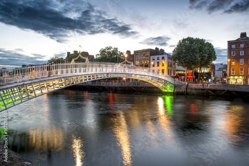 Ha'penny Bridge Poster