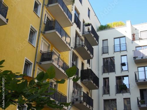 Foto op Plexiglas Berlijn Berlin: Moderner Wohnungsbau