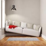 Sofa in einem zu kleinen Raum - 167098043