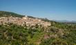 Scenic old hilltop village in Provence region of France - 167103685