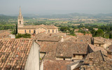 Scenic old hilltop village in Provence region of France