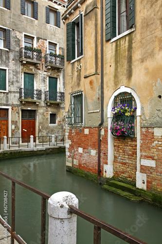 Spoed canvasdoek 2cm dik Venetie View of Venice. Region Veneto. Italy