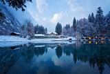 Winterlandschaft in den Schweizer Alpen
