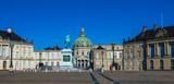 Amalienborg, the home of the Danish royal family, Copenhagen, Denmark