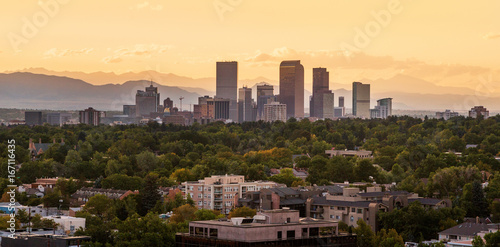Foto Murales Denver City Skyline