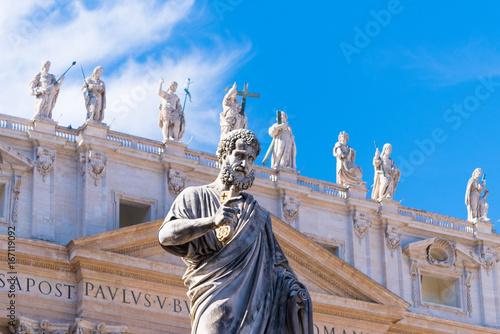 Papiers peints Rome statue saint peter