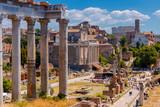 Rzym. Forum miasta.