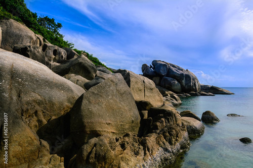 Пляж Кристалл Бей на острове Самуи, Таиланд