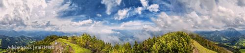 Blaubergkamm 360° Panorama - 167141811
