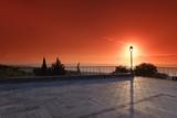 terrasse sur la côte orientale de Haute Corse
