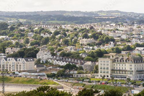 Coastline in Cornwall in the summer